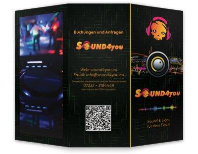 Die neuen sound4you Flyer sind ab sofort erhältlich