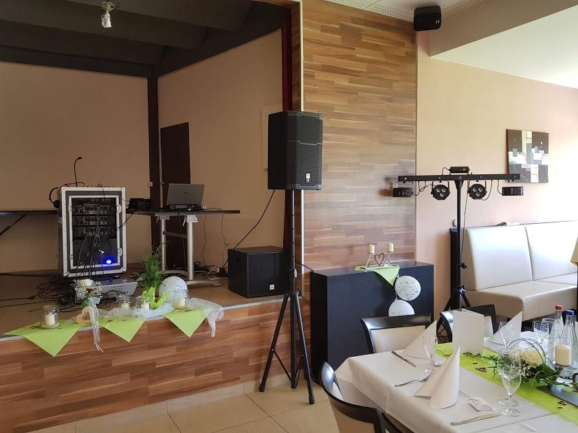 Sound4you durfte bei einer Hochzeitsfeier am 11.08.2018 das Equipment stellen