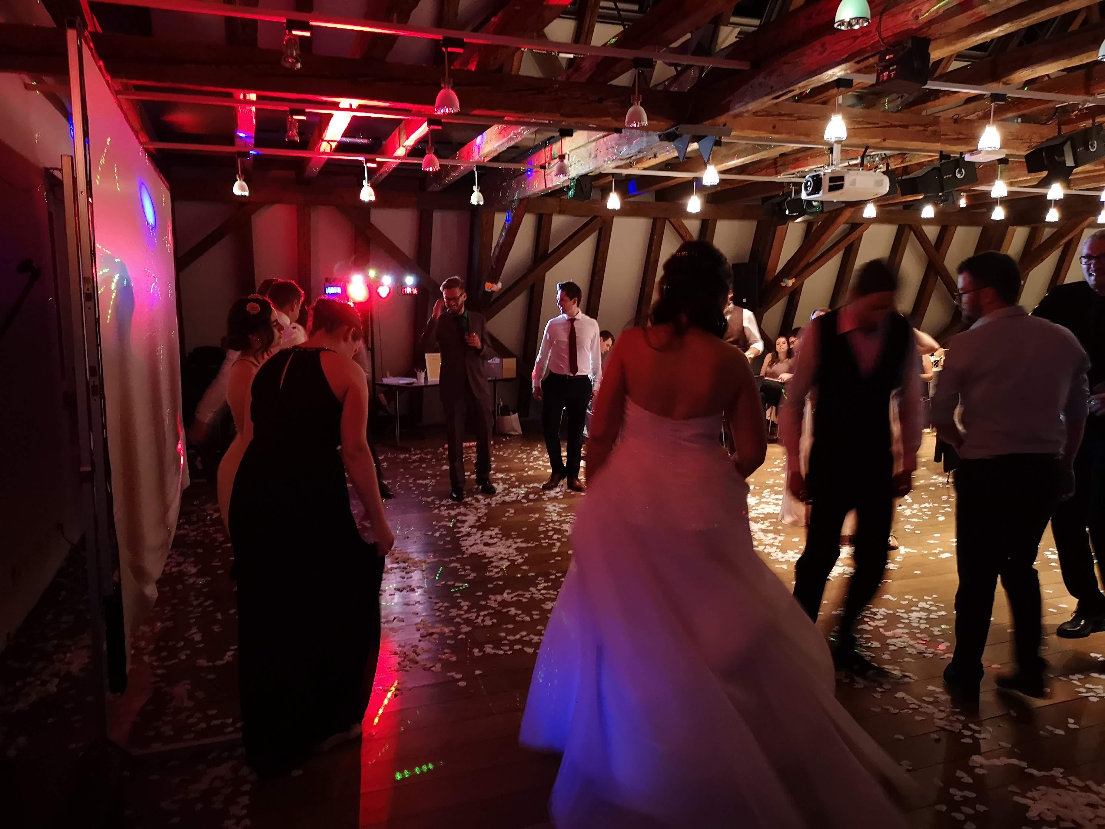 Sond4you bei einer Hochzeit in historischer Kulisse